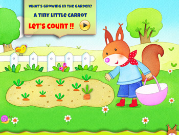 Let's Count to 5 Interactive Book App