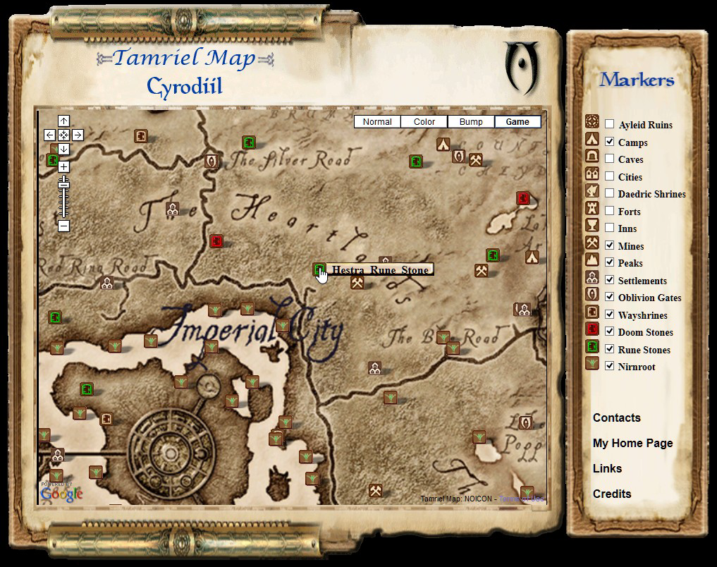 Interactive Oblivion and Shivering Isles Map realized by ... on staff of sheogorath oblivion, sheogorath daedric quests oblivion, all locations in oblivion,