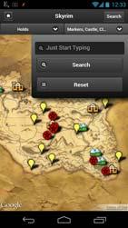 Tamriel Maps App