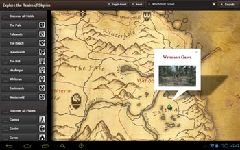 Skyrim Map HD