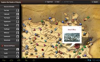 Skyrim Map HD