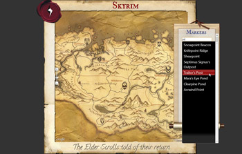 Tamriel Maps Website